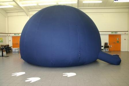 Home Dinosaur Dome In School Science Provider
